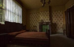 Nedervåningens sovrum